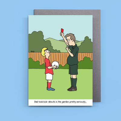 Terrific Thortful An Awesome Fathers Day Card From Nick Hannaford Hill Personalised Birthday Cards Veneteletsinfo